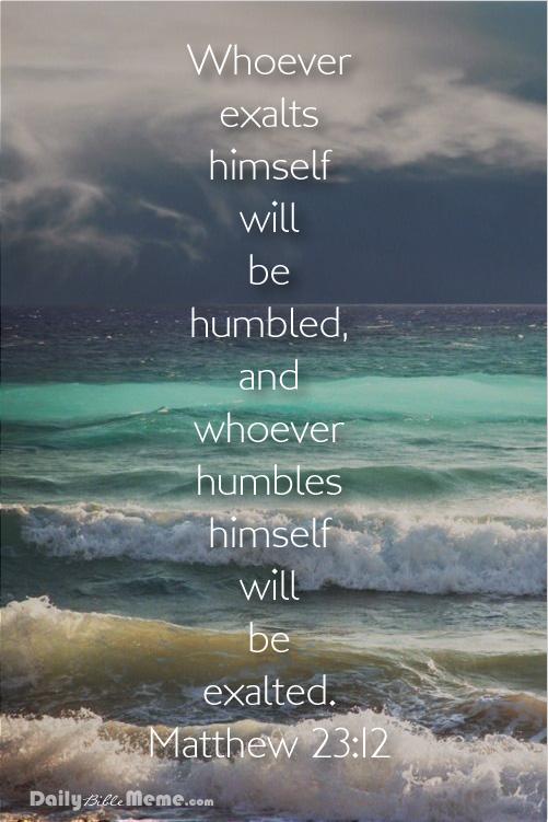 Matthew 23:12