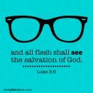 Luke 3:6 I DailyBibleMeme.com