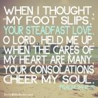 Psalm 94:18-19 I DailyBibleMeme.com