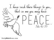John 16:33  I  DailyBibleMeme.com