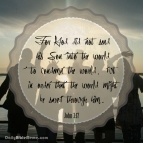 John 3:17 I DailyBibleMeme.com